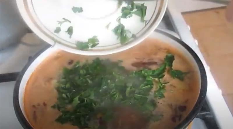 Петрушка в суп