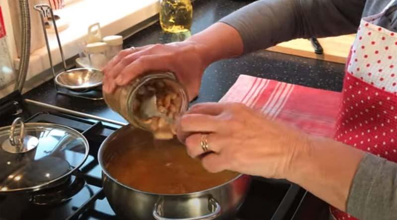 Консервированная фасоль в суп