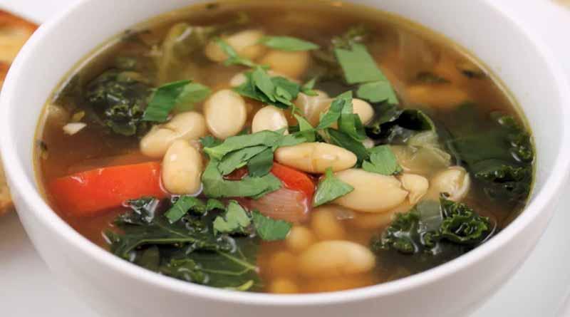 Постный суп с фасолью простые рецепты из белой и красной фасоли