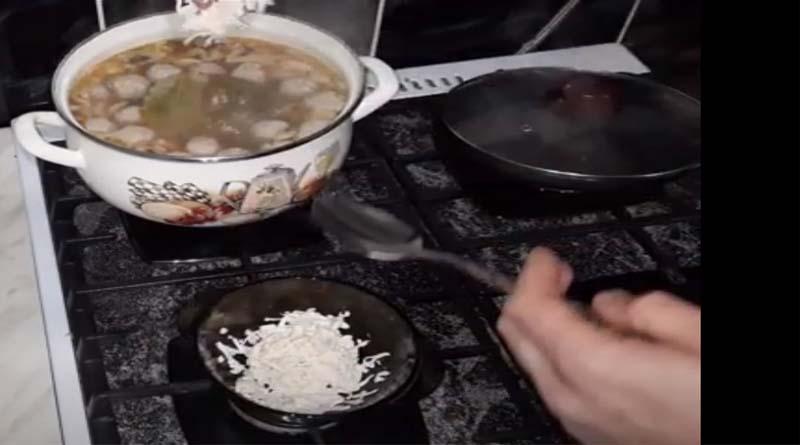 Натертый плавленый сырок для супа