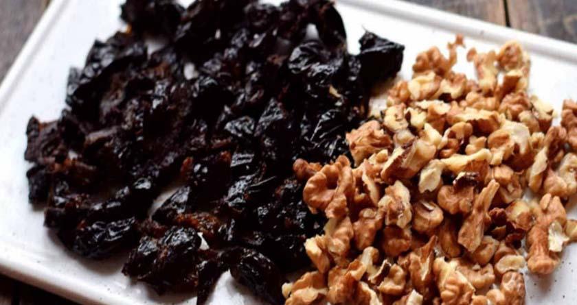 Орехи и чернослив
