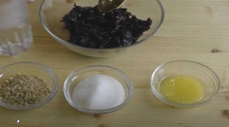 Ингредиенты для начинки из чернослива и орехов
