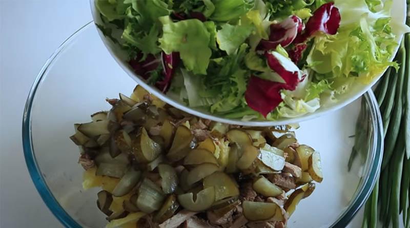Маринованные огурцы для салата