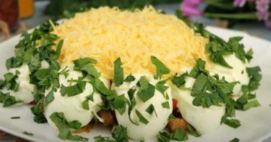Вкусные и простые салаты на скорую руку